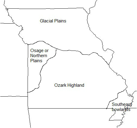 Missouri Unit One Geography Adair County R Social Studies - Map of northern missouri